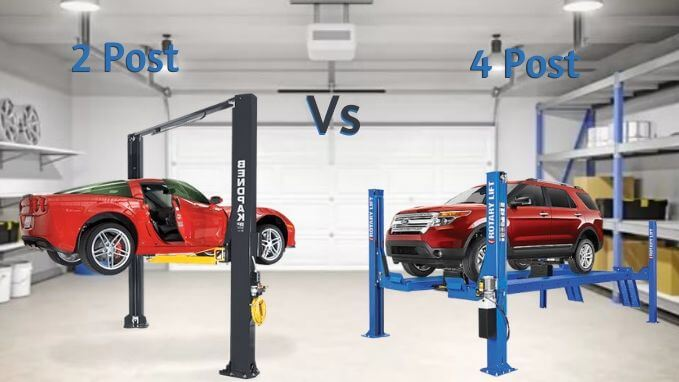 Photo of 2 Post vs 4 Post Lift – Which is the Best Garage Lift for your Car?