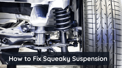 How to fix squeaky suspension