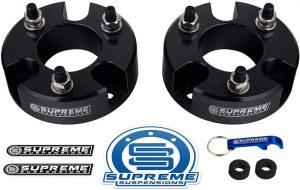 Supreme Suspensions - Front